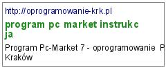 program pc market instrukcja